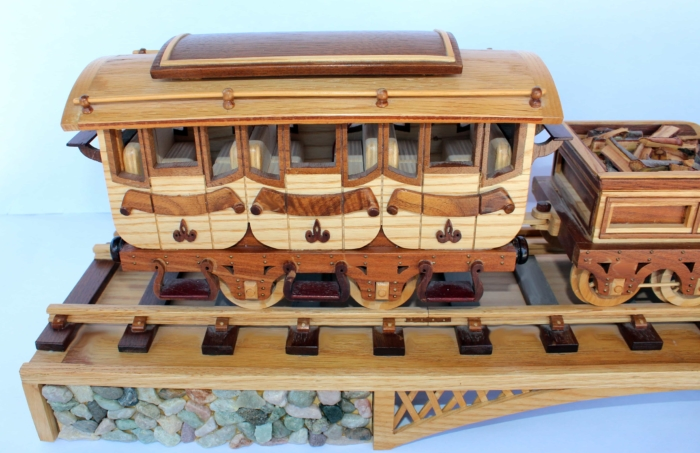 Woodworking plan for the coach car woodworking plan