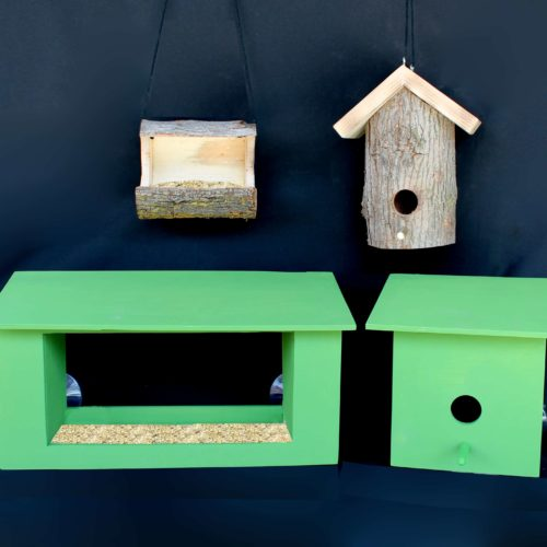 Four bird devices from woodworking plans