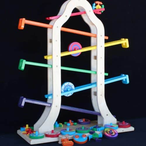 Children love this action toy. Hours of fun