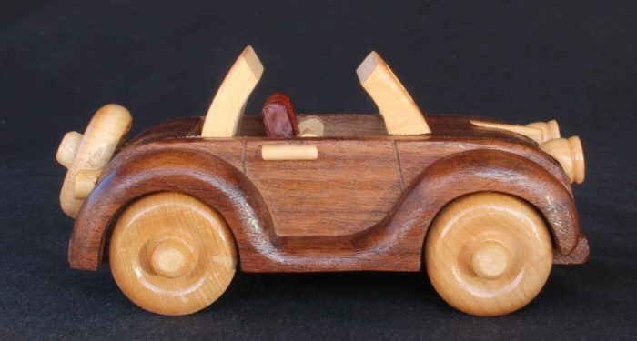 Wood plan for a convertible with a working top wood plan