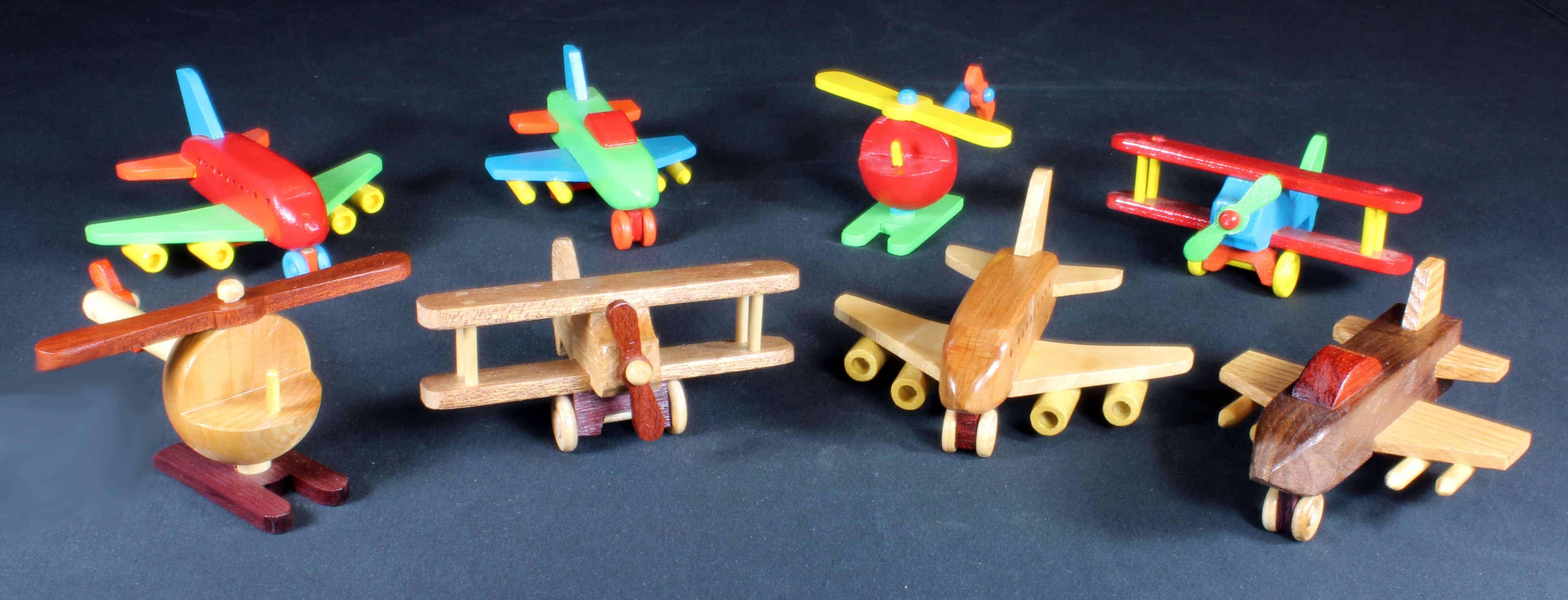 Plump'N'Tuff airplane woodworking plans