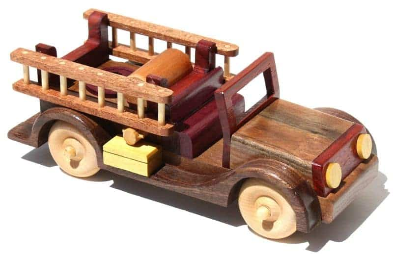 Hardwood Firetruck woodworking plan