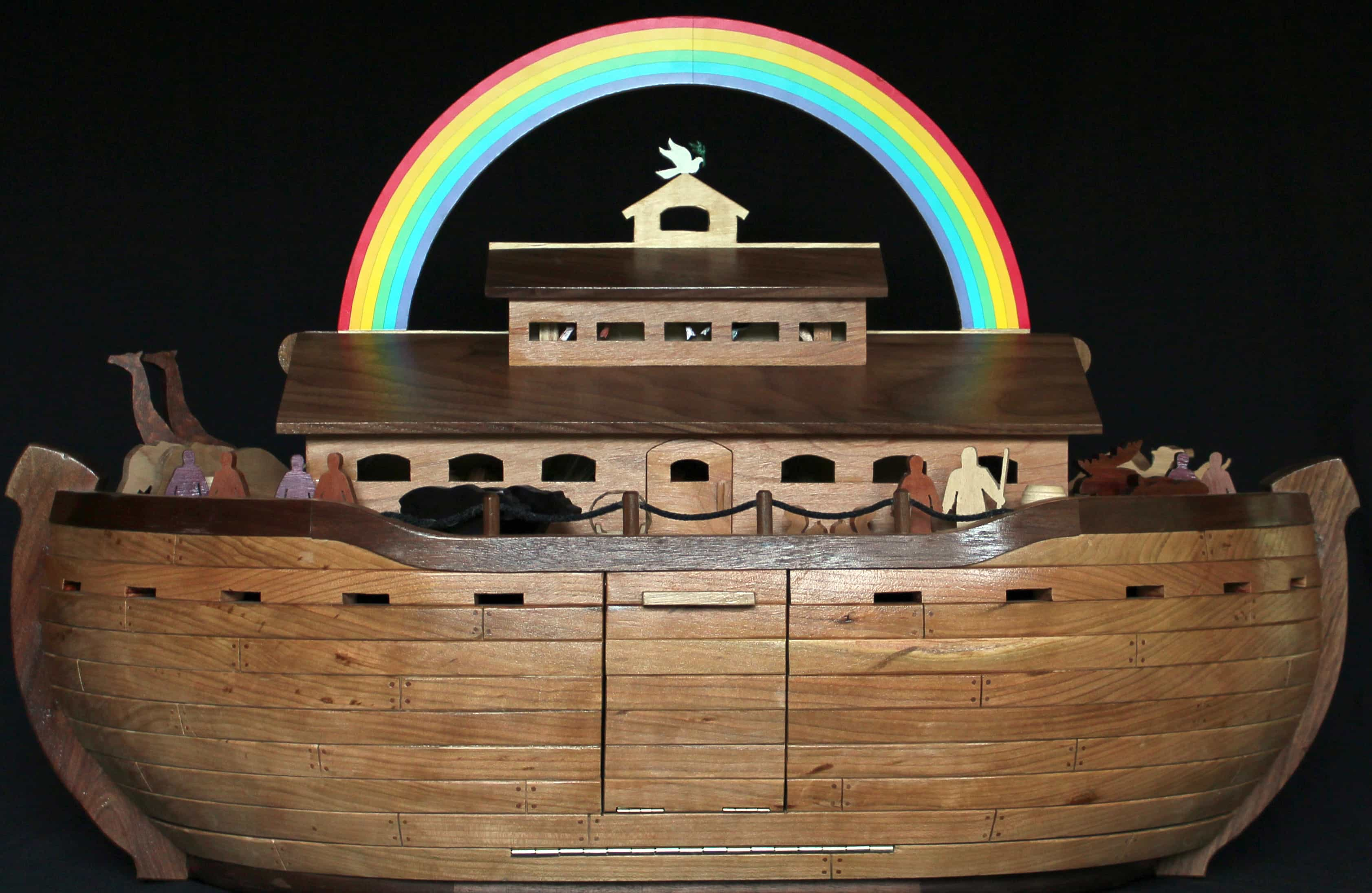 noah's ark woodworking plan
