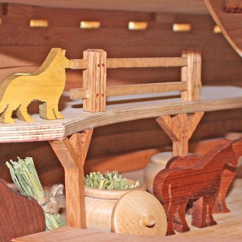 Noah's Ark view showing details