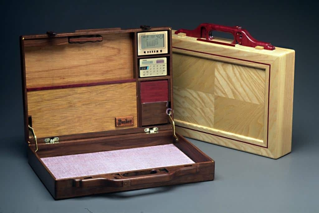 Woodworking Plan For A Stylish Wood Attache Case With
