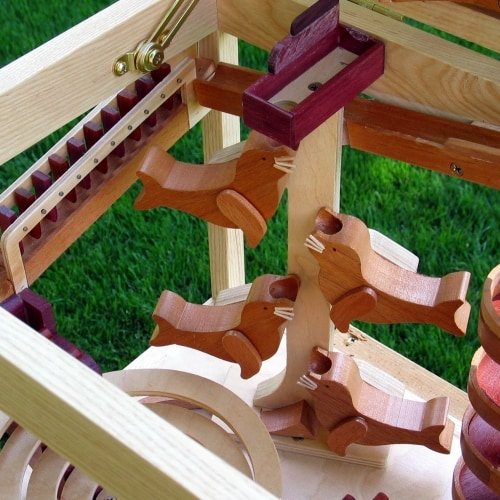 All the detail is explained in the woodworking plan
