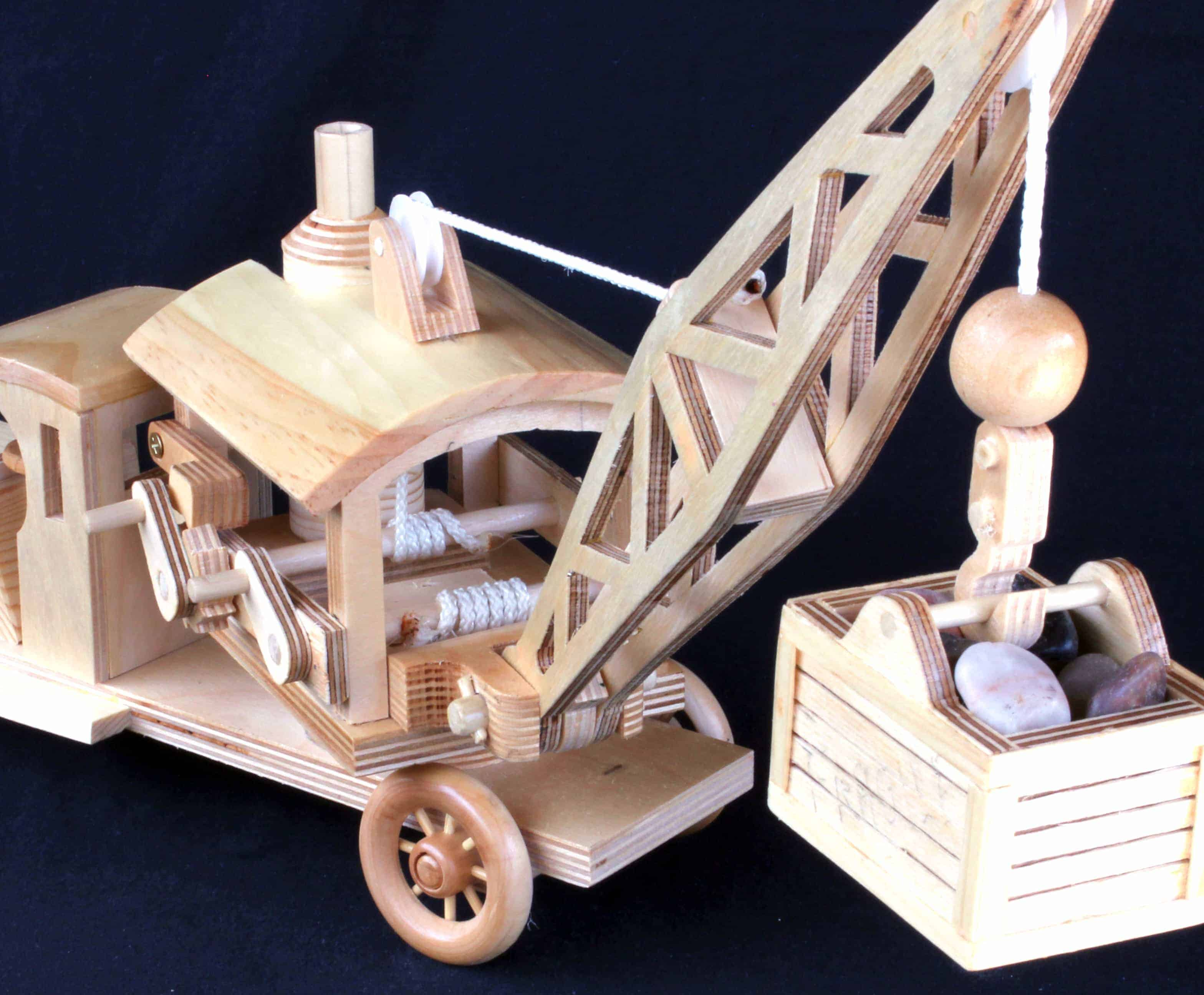 Early Construction Vehicles Woodworking plans - Forest ...
