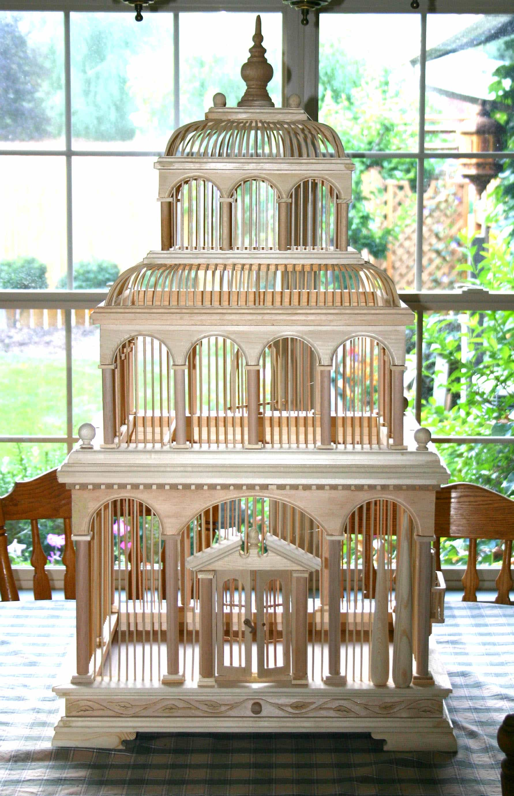 Venice Bird Cage Woodworking Plan - Forest Street Designs
