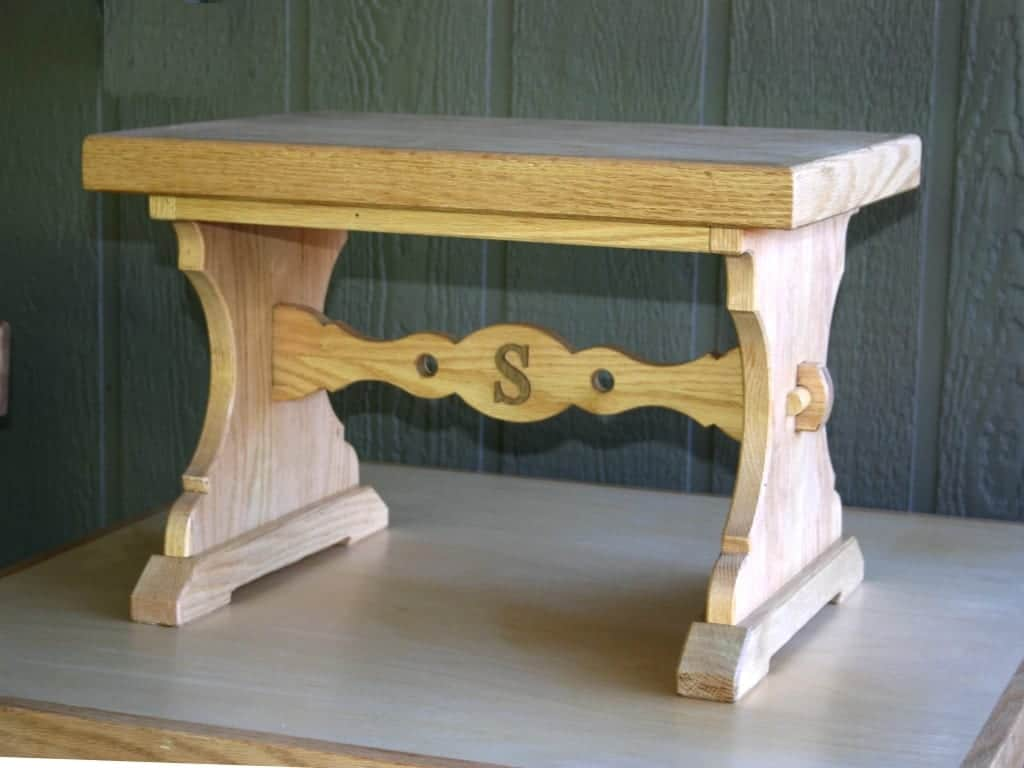 Rolling Bench Shop Stool And Foot Stool Woodworking Plans