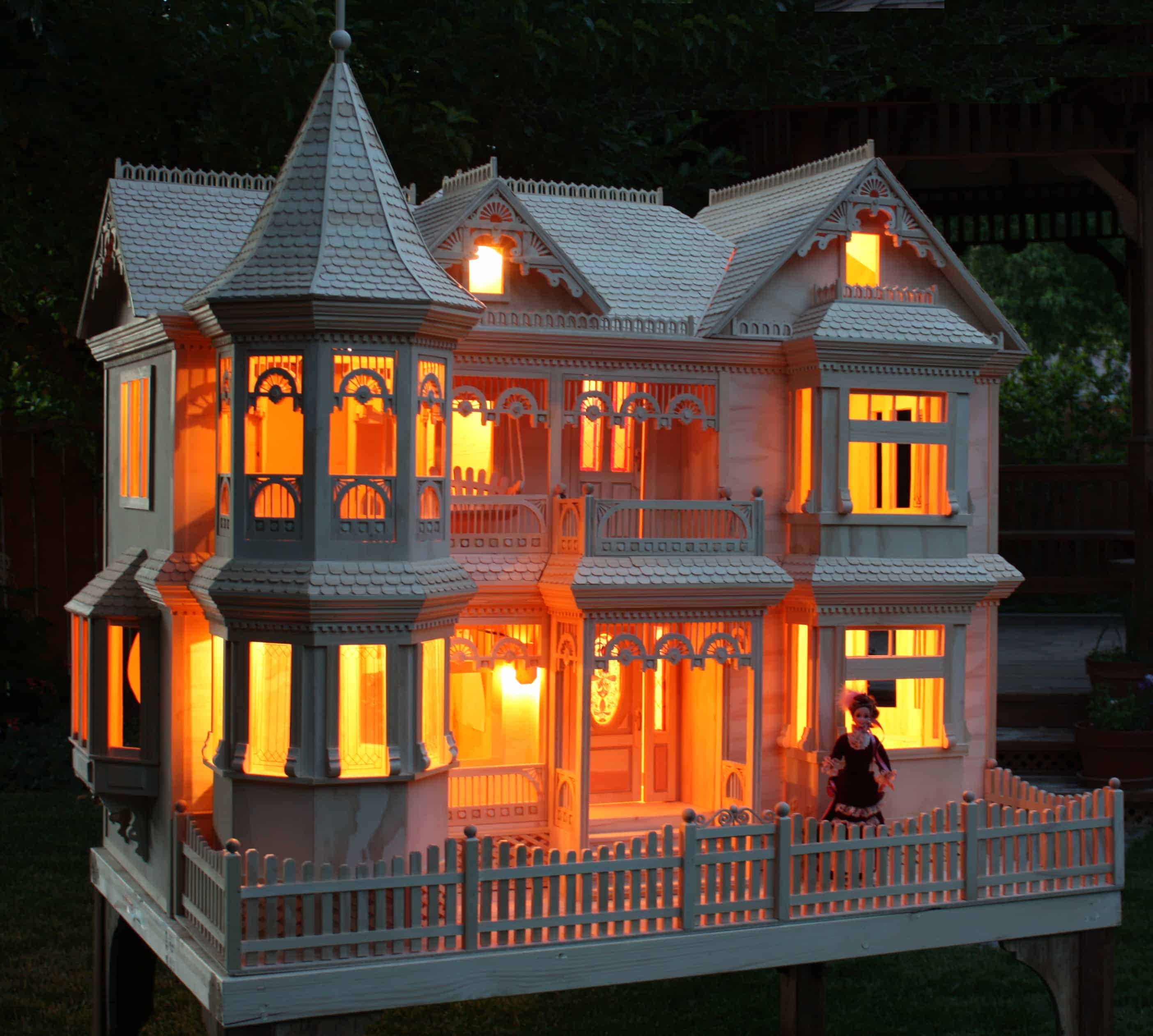 Victorian Barbie 174 House Woodworking Plan Forest Street