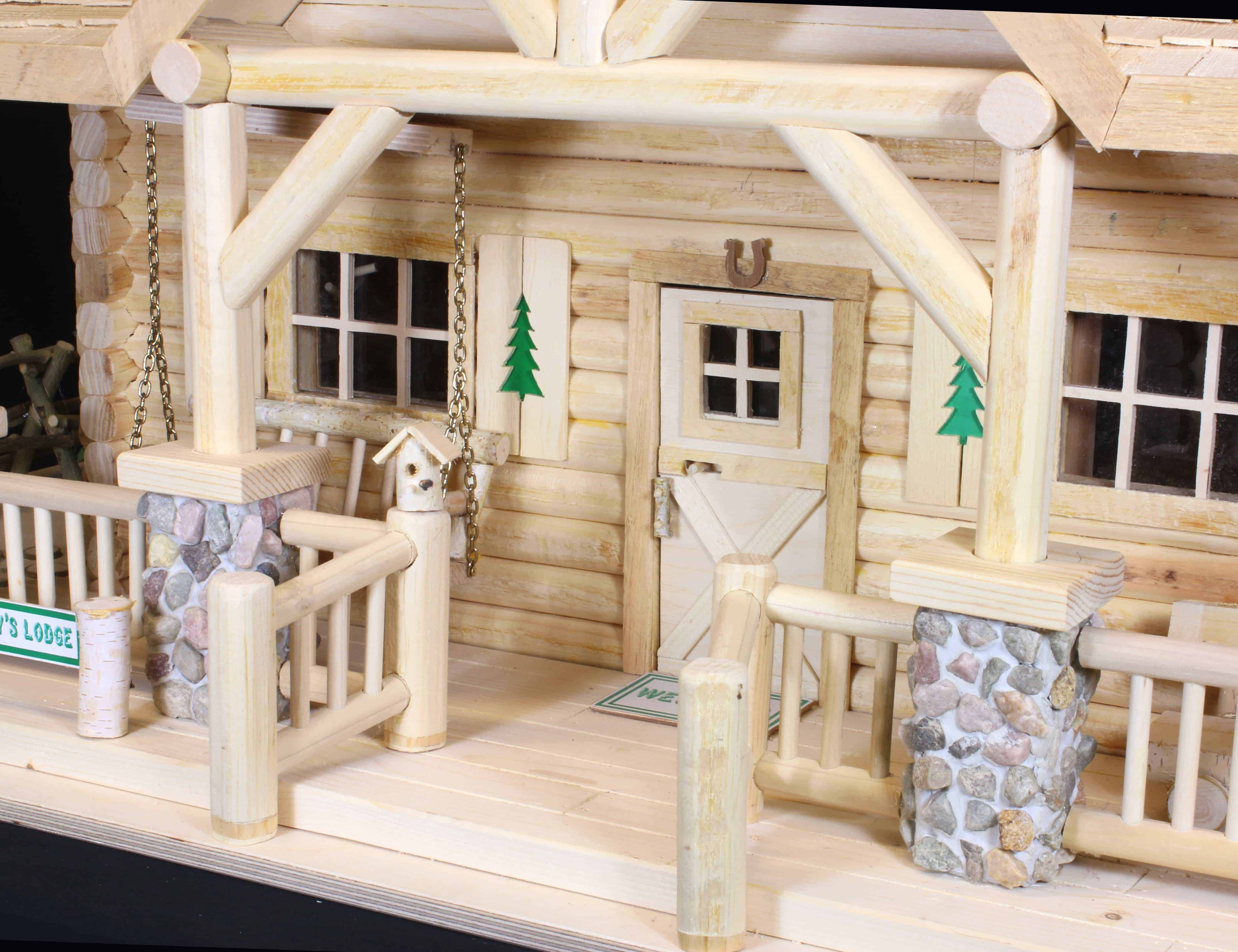 Bear Family Lodge Woodworking Plan Forest Street Designs