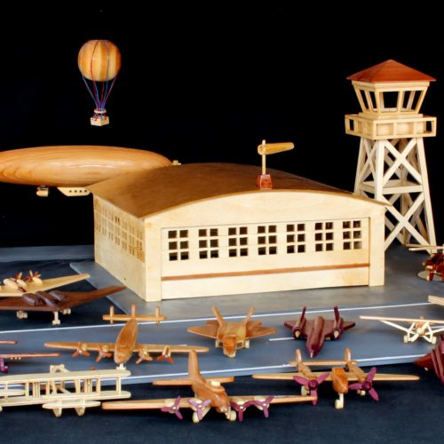 Large aviation packge in one woodworking package