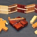 Wood whistles and a climbing bear are part of the Novelties wood plan package