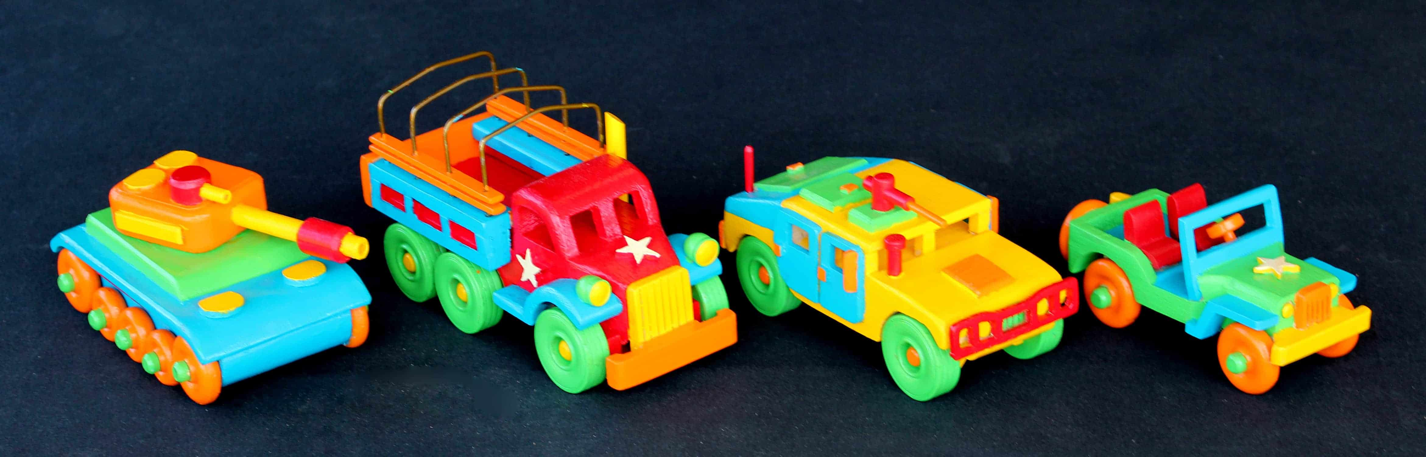 Plump'N'Tuff military vehicles woodworking plan package