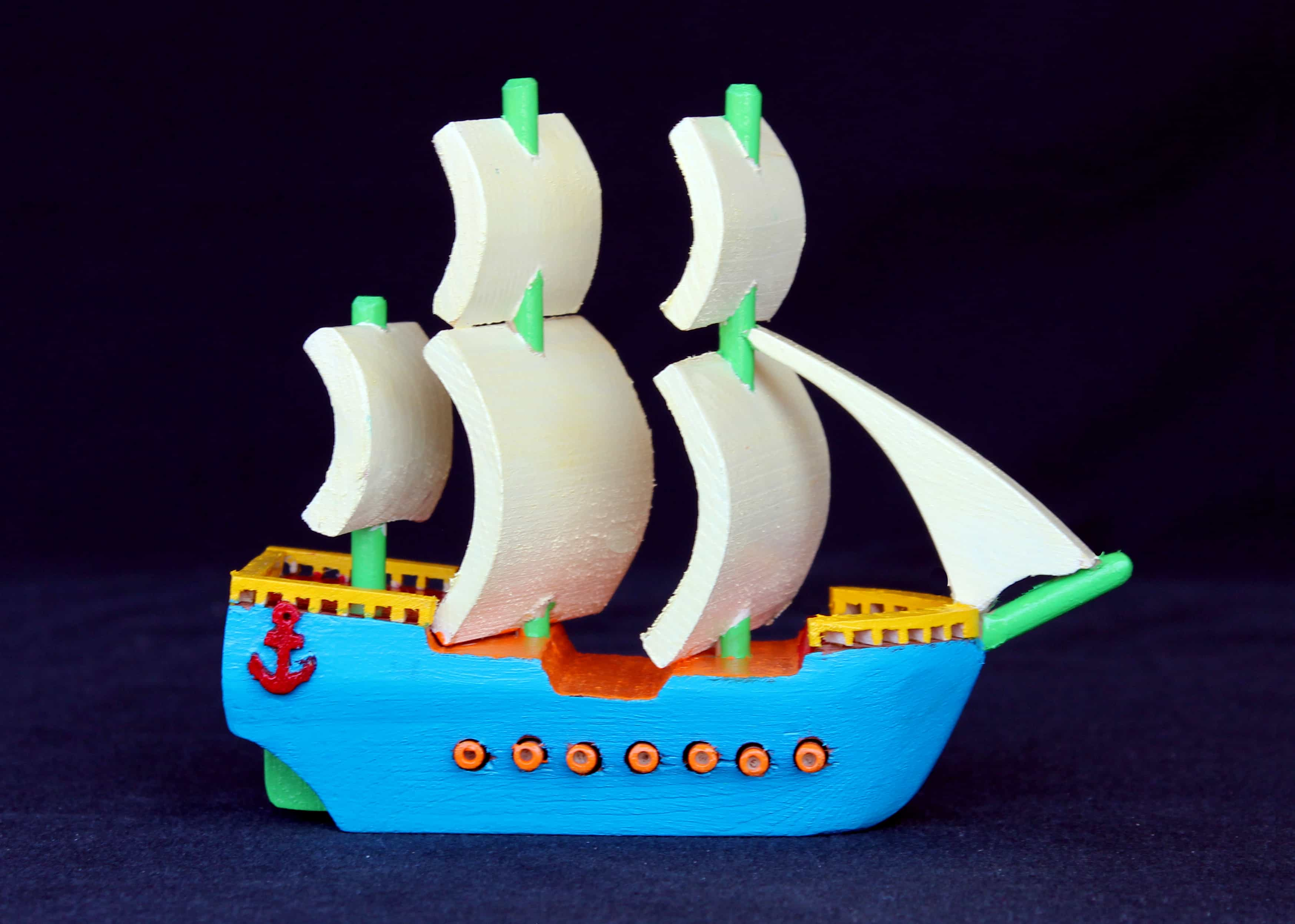 Sail boat woodworking plan