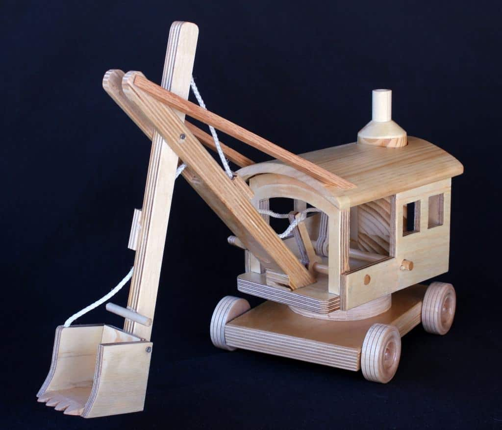 Steam Shovel from the Early Construction Machines woodworking plan