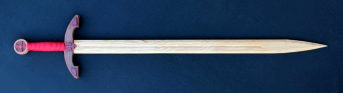 One of the items that can be built from the sword and shield woodworking pln