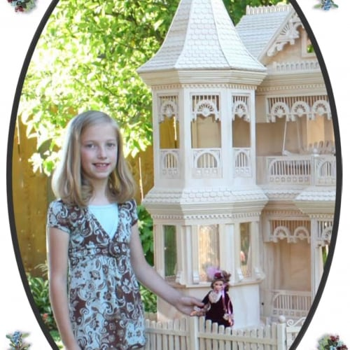 Victorian appointmnets in this comprehensive Barbie House Woodworkilng plan