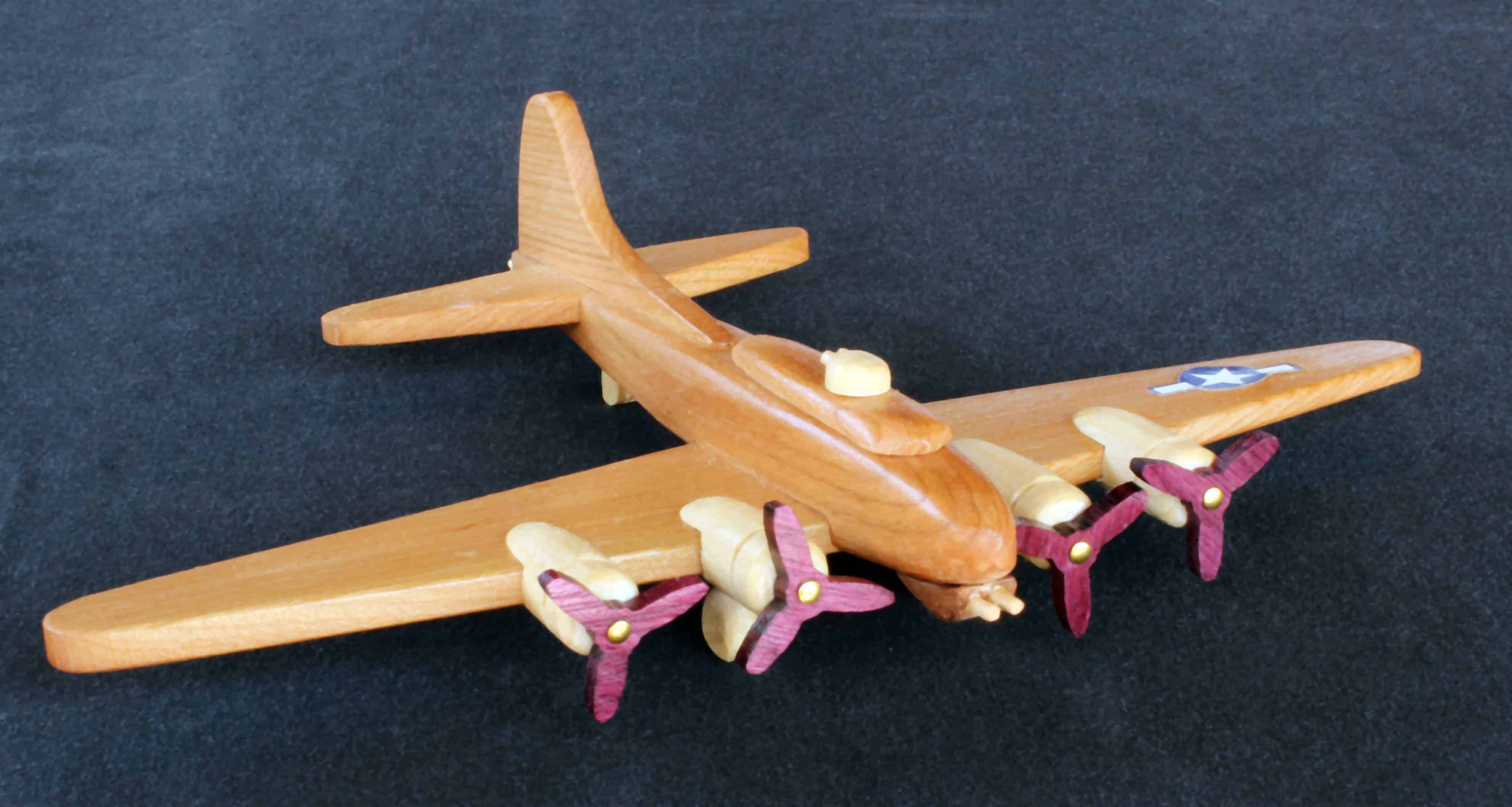 aviation history in wood