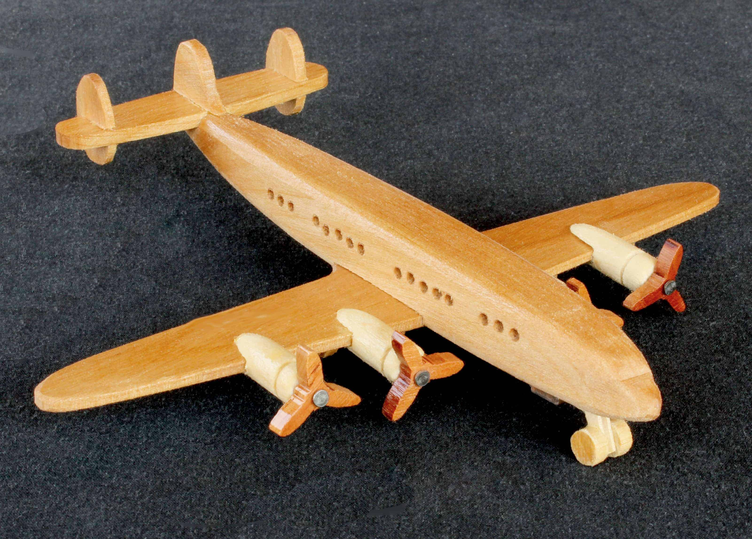Aviation History in Wood - Deluxe woodworking plans