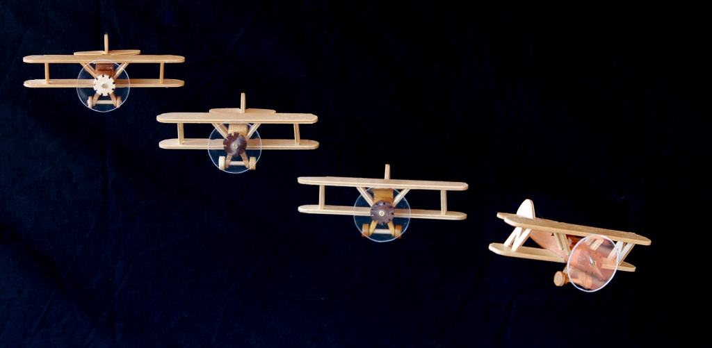 Planes from the Aviation Woodworking Plan