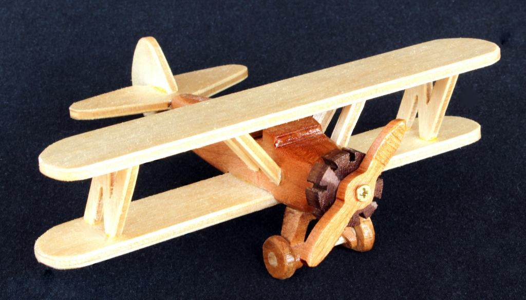 Plane from the Aviation woodworkilng plan package