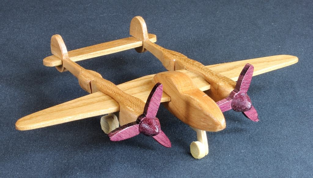 One of several Plump'N'Tuff woodworking toy plans