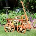Garden Cart with fruit display woodworking plan