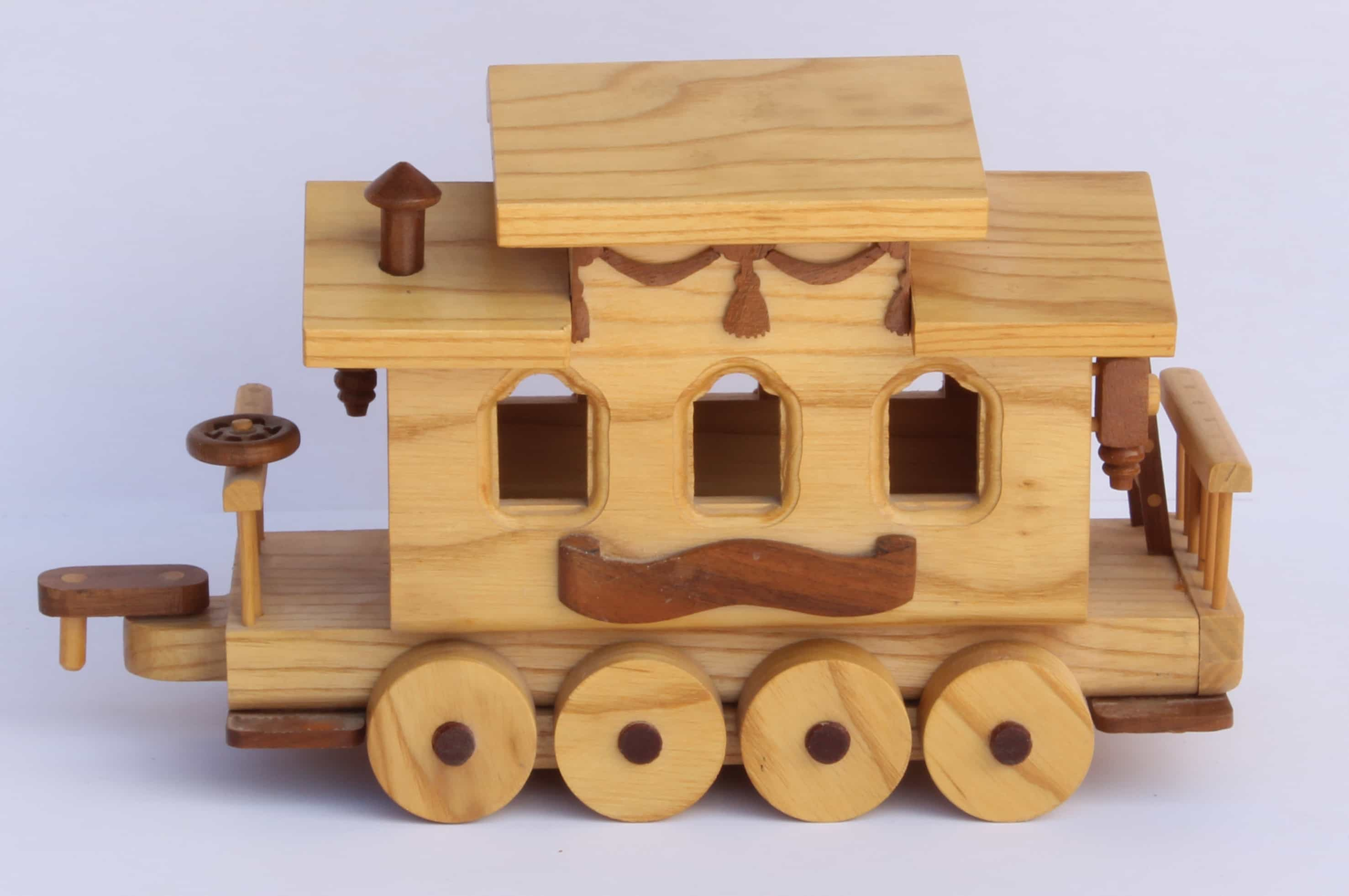 Circus Train Woodworking Plan