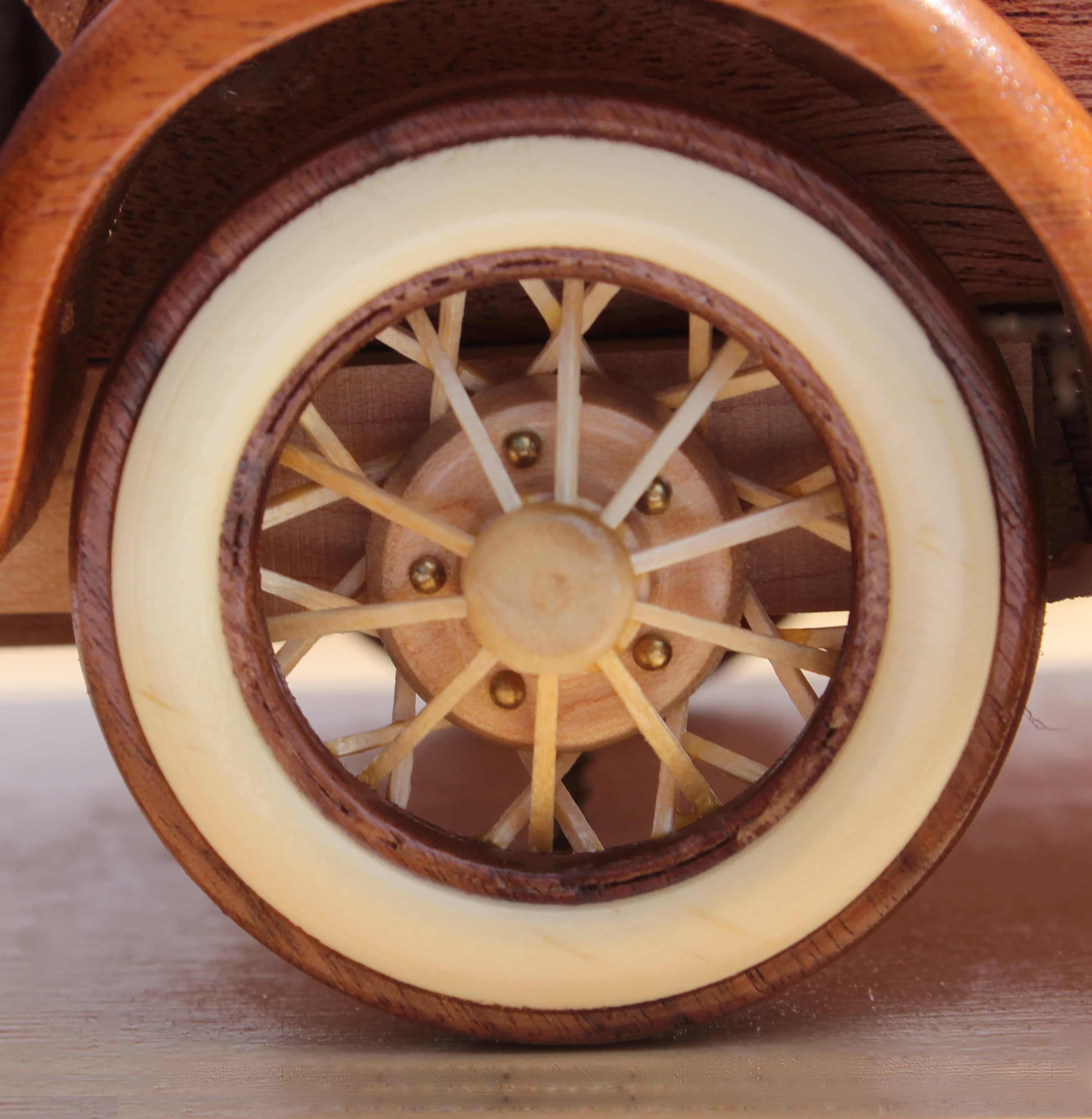 A Woodworking Plan For Building The Classic 1930 Ford