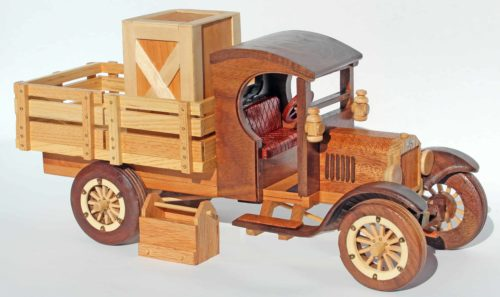 Ford Model T with crate