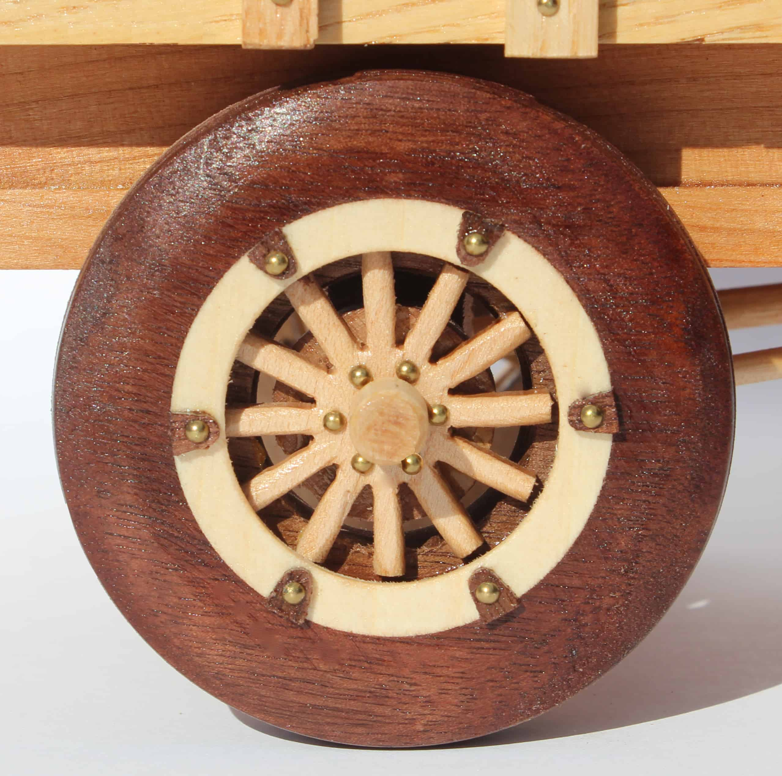 model t wooden spoke wheels