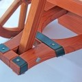 Garden Cart woodworking plan handle in steering joint