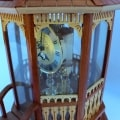 Anniversary movement of the Gazebo Clock woodworking plan