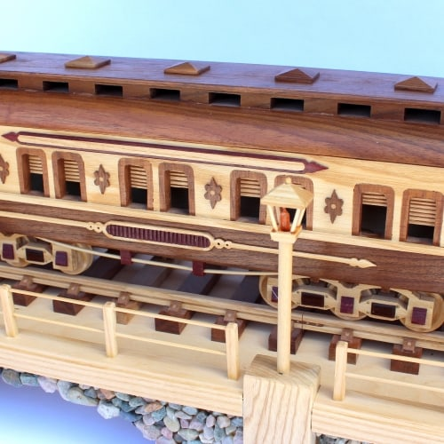 Third car on the Iron Horse Train woodworking plan