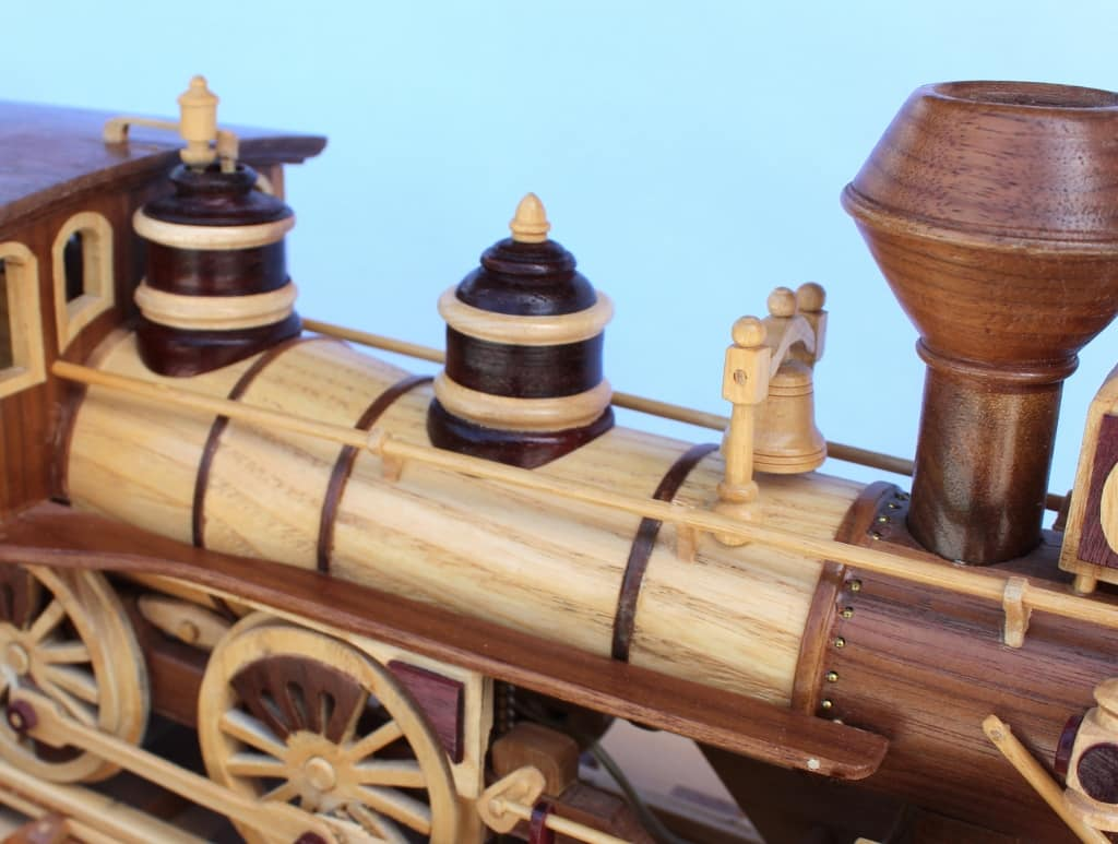 Top of engine on the Iron Horse Train woodworking plan