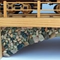 Iron Horse Train woodworking plan rockwork detail