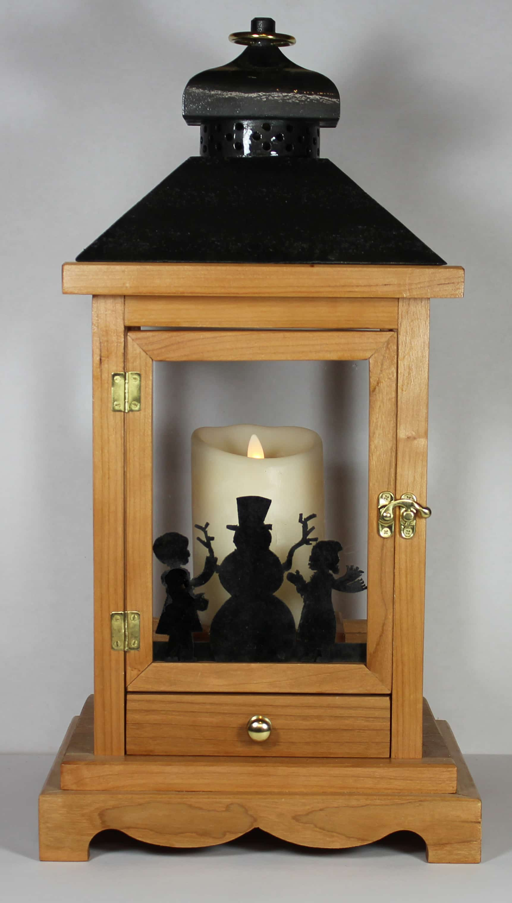 A Woodworking Plan For Building A Wood Lantern For