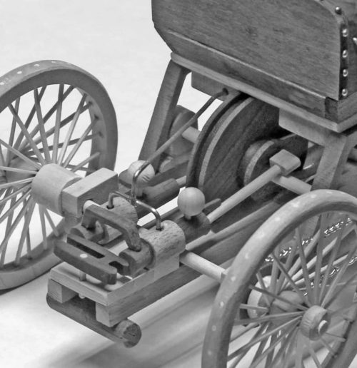 Ford rear mount motor