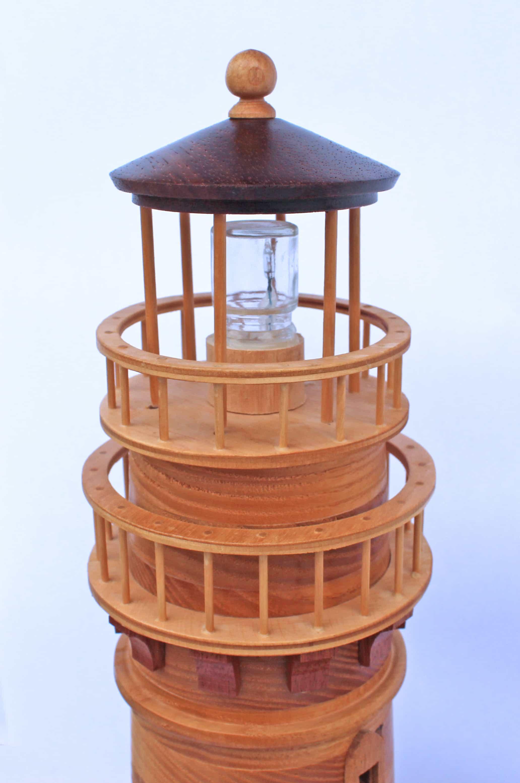 New England (Lighthouse) Birdhouse Woodworking Plan
