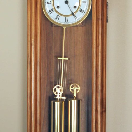 Woodworking plan for a Vienna Regulator Clock