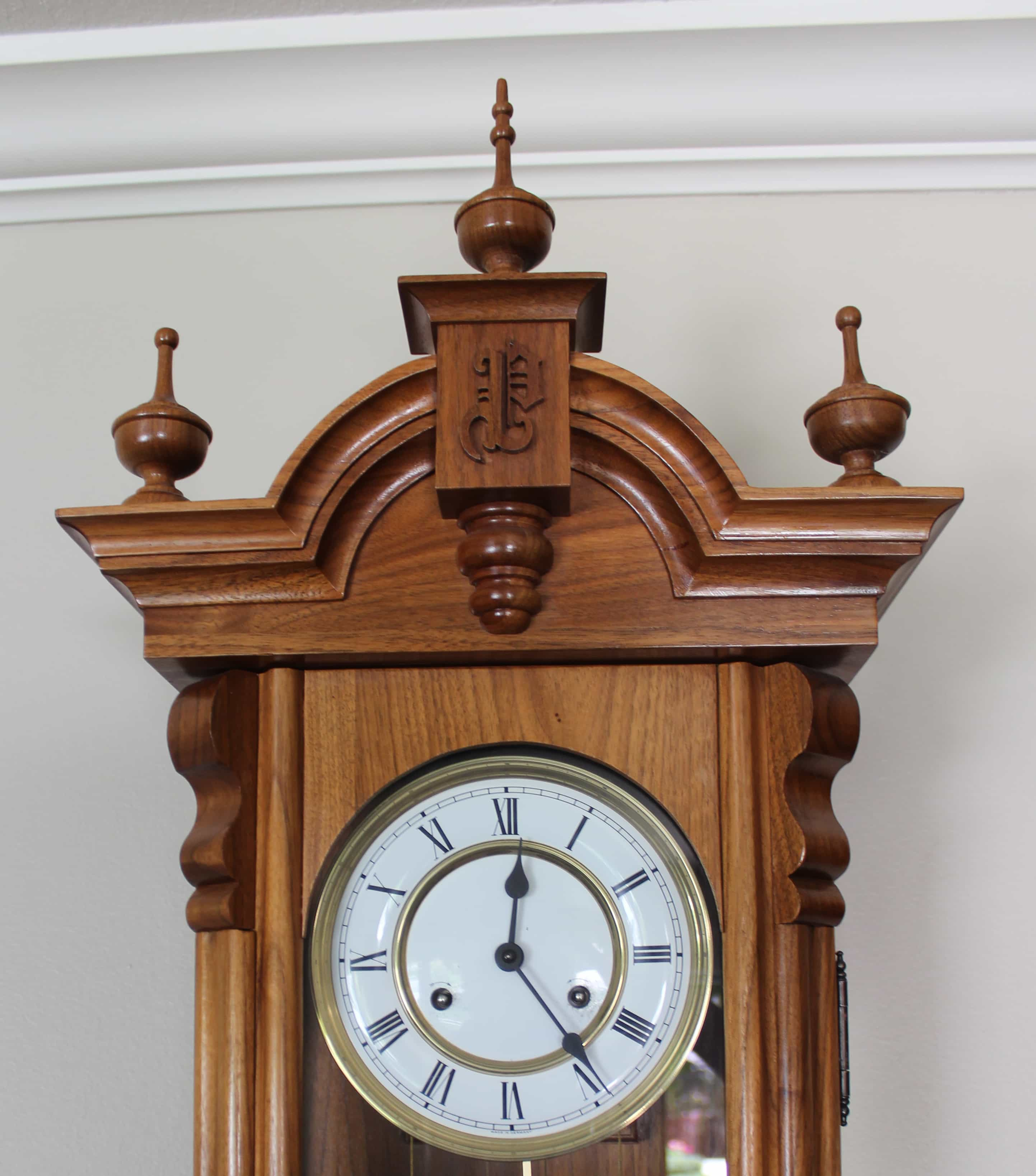 Vienna regulator wall clock woodworking plan top of vienna regulator wall clock woodworkilng plan amipublicfo Image collections