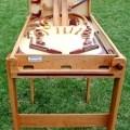 Pinball game woodworking plan full view